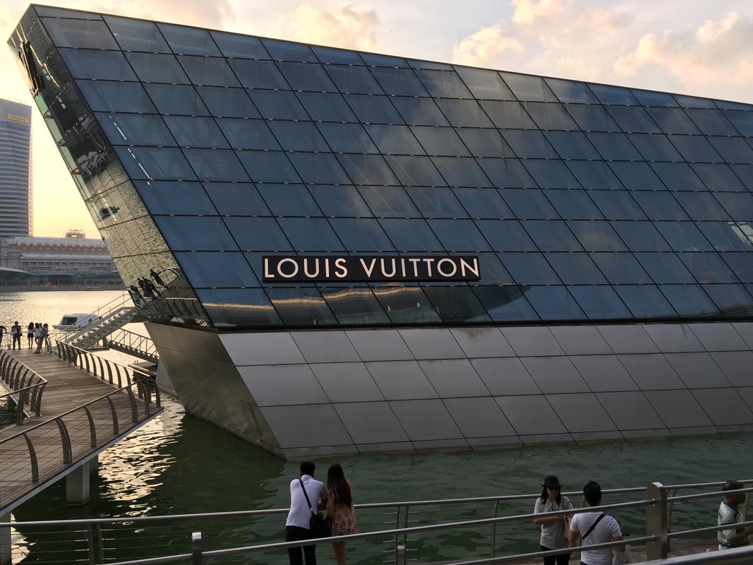 Singapur - Marina Bay - Louis Vuitton - Michael Meixner