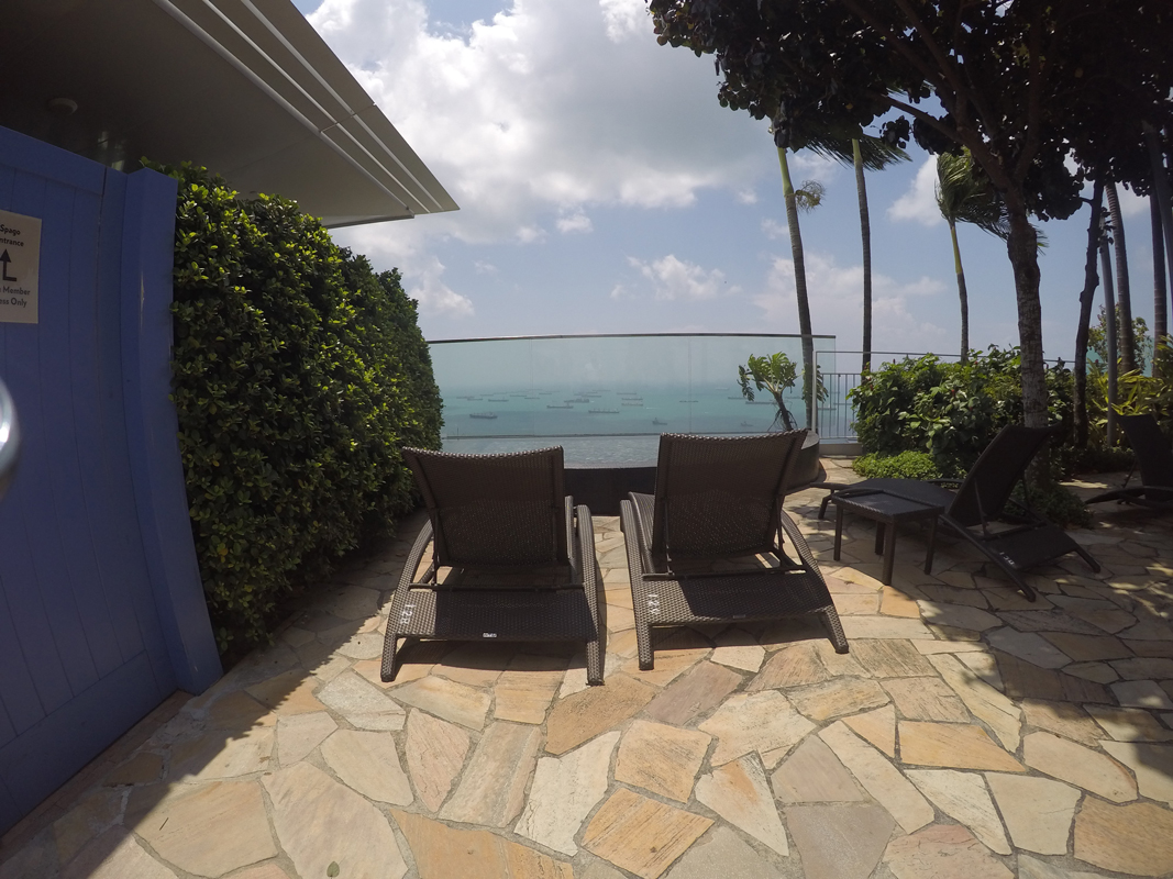 Singapur - Marina Bay - Pool view #11 - Michael Meixner