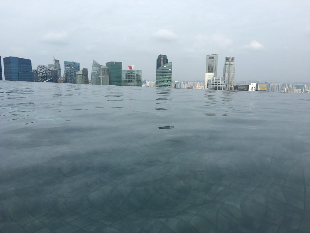 Singapur Marina Bay - Pool view #4 - Michael Meixner
