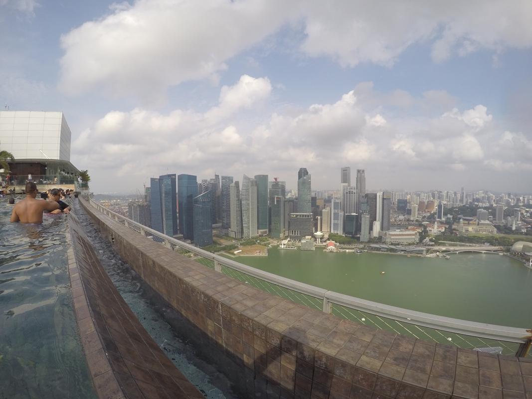Singapur - Marina Bay - Pool view #7 - Michael Meixner