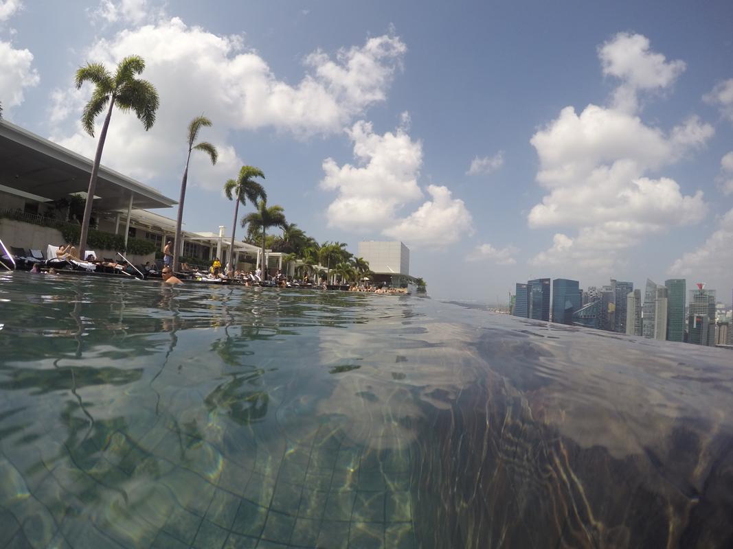 Singapur - Marina Bay - Pool view #9 - Michael Meixner