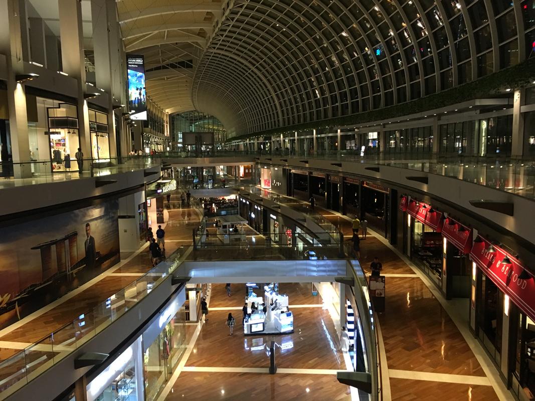 Singapur - Shopping Center - Marina Bay - Michael Meixner