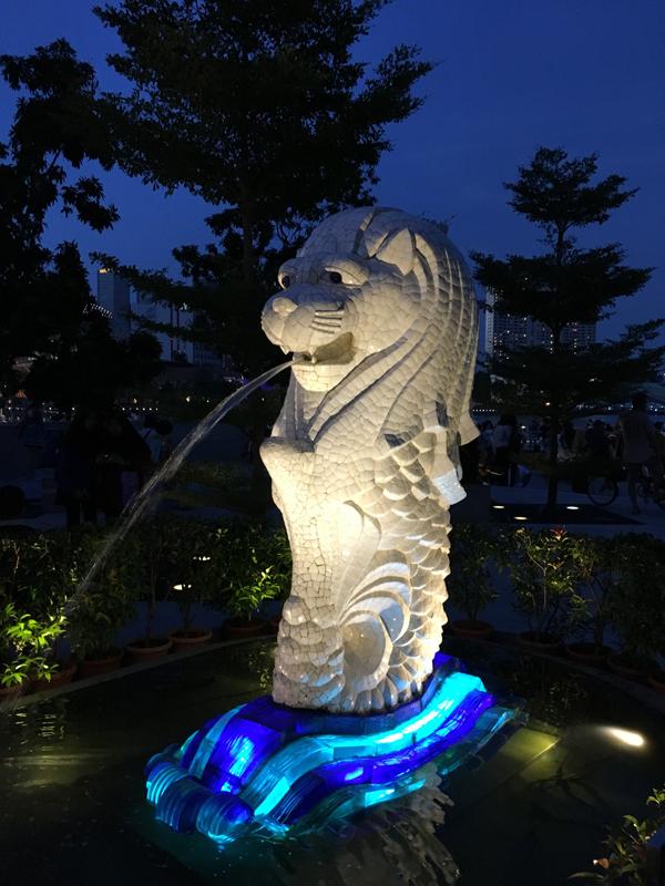 Singapur Wahrzeichen - Michael Meixner